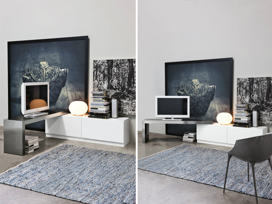 360 TV stand by Ronda Design