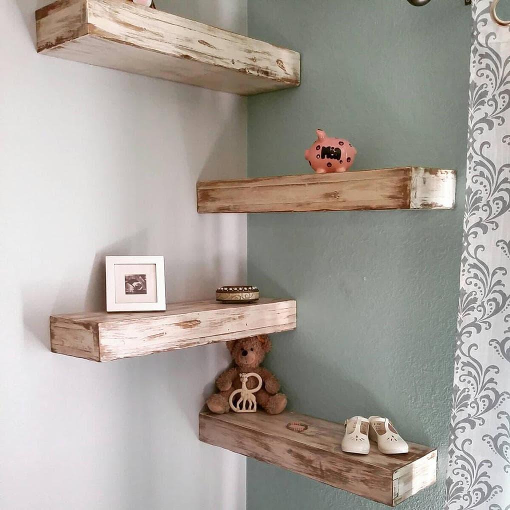 деревянные полки на стену своими руками фото модернизирован один