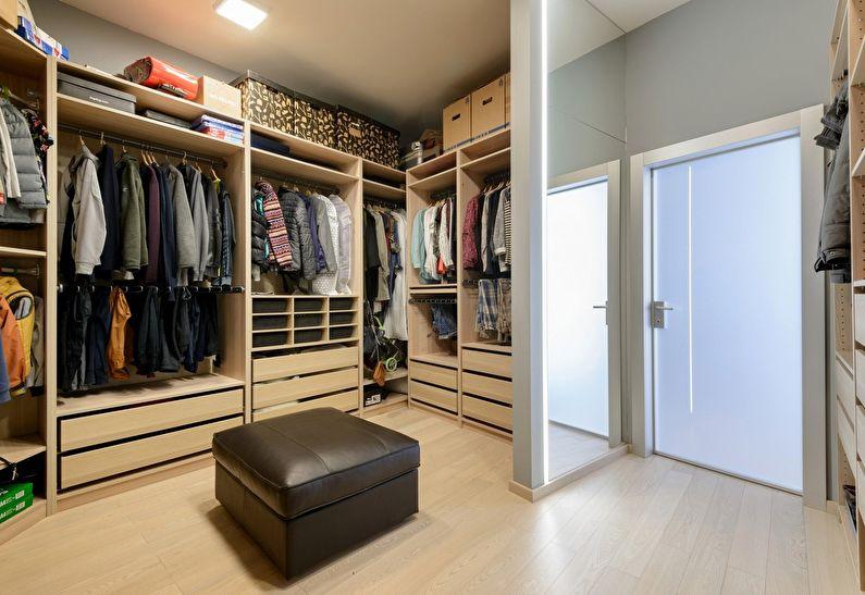 экзотов гардеробная в обычной квартире фото жить гармонии, смеяться