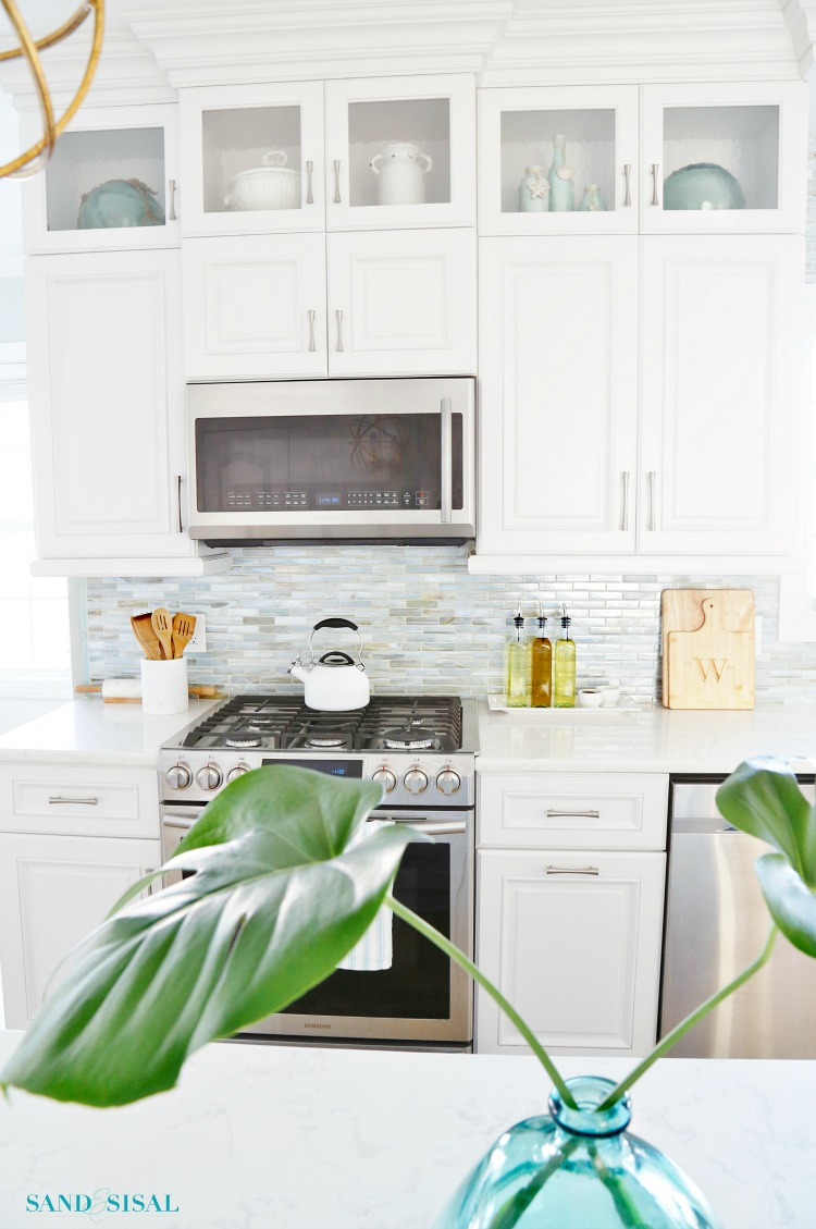 Spring Coastal Kitchen Tour